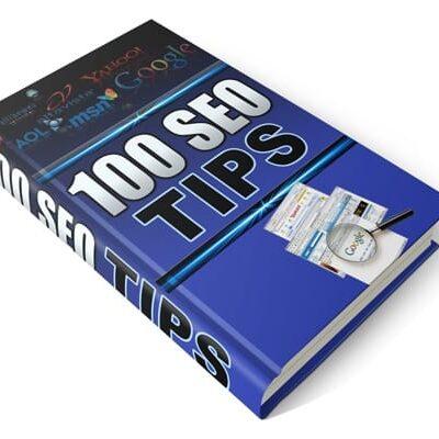 100 SEO Tips PLR Product ebook
