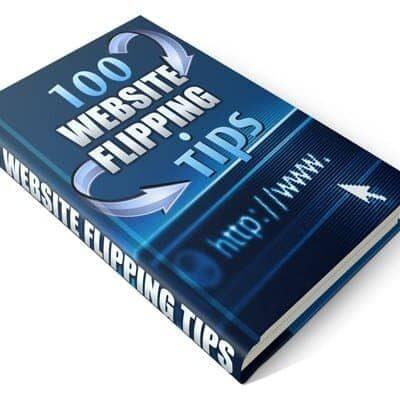 100 Website Flipping Tips PLR Product ebook