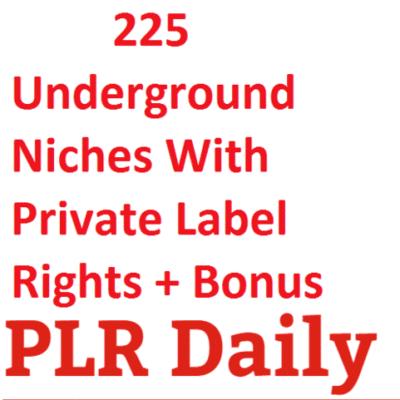 225 Underground Niches
