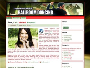 Ballroom Dancing Templates Are you