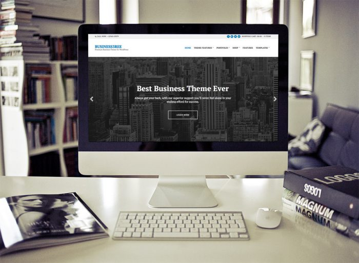 Business3ree If you liked our previous Business and Portfolio WordPress themes