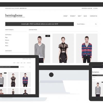 Herringbone WooCommerce theme CSSIgniter