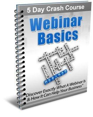 The Webinar Basics Course