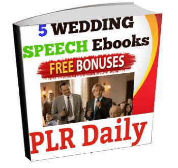 Wedding Speech Ebooks