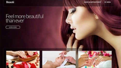 Beauté A Beauty & Health WordPress theme