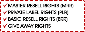 Resale Rights Products