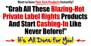 (PLR) and (MRR) Products