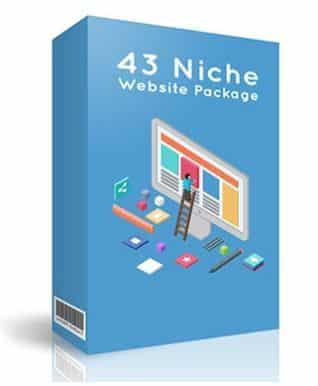 43 Niche Website Package
