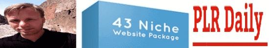 43 Niche Website Package PLR