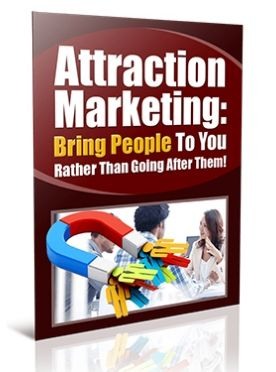 Attraction marketing low-cost online