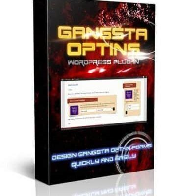 Gangsta Optins Wordpress Plugin PLR