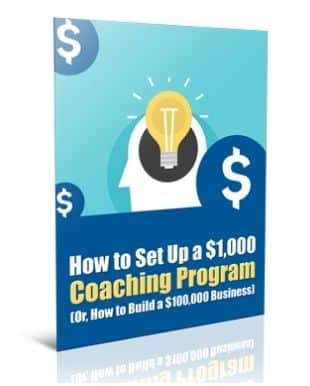 How To Set Up a $1000 Coaching Program