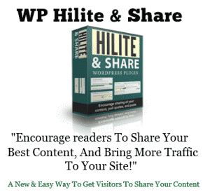 WP HiLite Share Premium WordPress