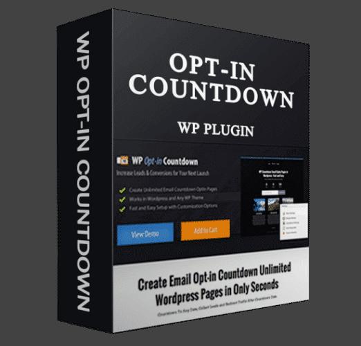 WP Optin Countdown Wordpress