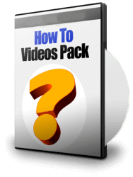 How To Videos Pack collection of 20 how to videos that will teach you everything to help you to success on the internet