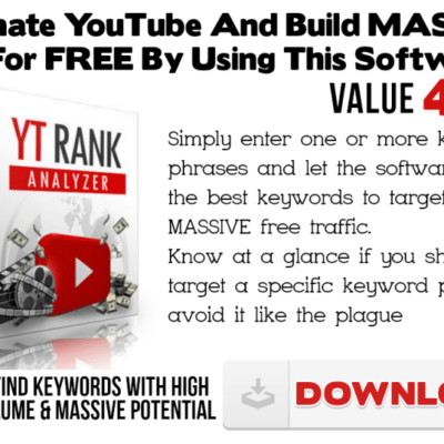 Free Software Download YT Ranker