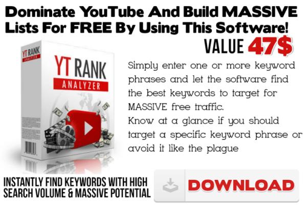 Free Software Download YT Ranker