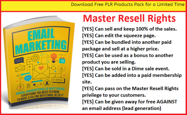 Email marketing Master Resell Rights Sending Email Advertisements