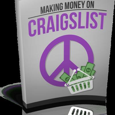Making Money On Craigslist Advantages of Using Craigslist to Make Money