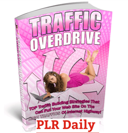 Traffic Overdrive TOP Traffic Building Strategies Put Your WebSite On High Traffic