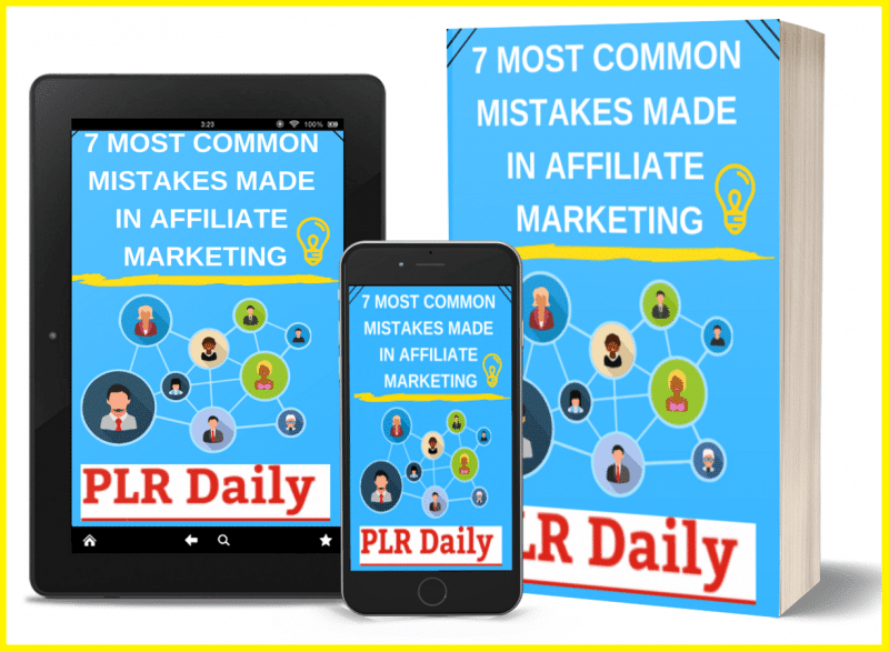 7-Most Common- Mistakes- Made-In- Affiliate- Marketing- PLR-MMR