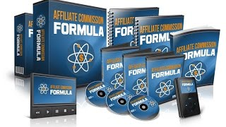 Affiliate Commission Formula PLR Review