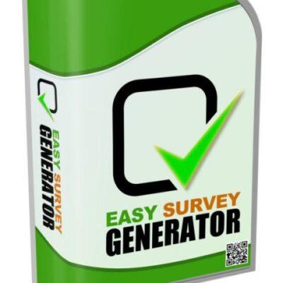 Easy Survey Generator Software