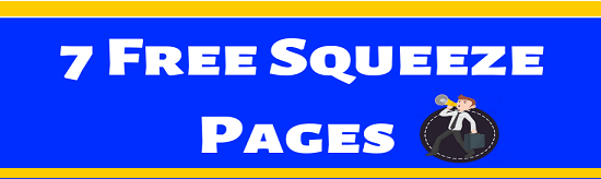 7 Free Squeeze-Pages High Converting Squeeze page that boosts your opt-in
