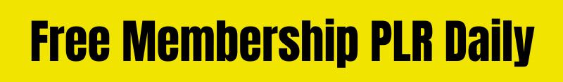 Free Membership PLR Daily