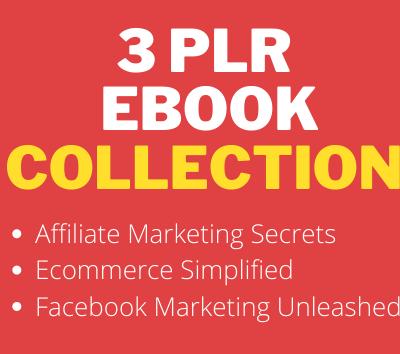 3 PLR Ebooks Collection